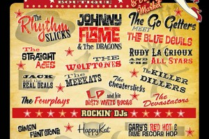 Poster Design for Porthcawl Rockabilly Festival