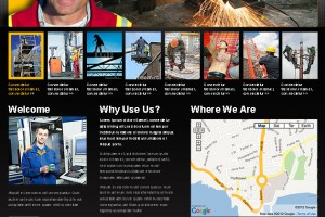 Website Design for Worcester Safety Training Company