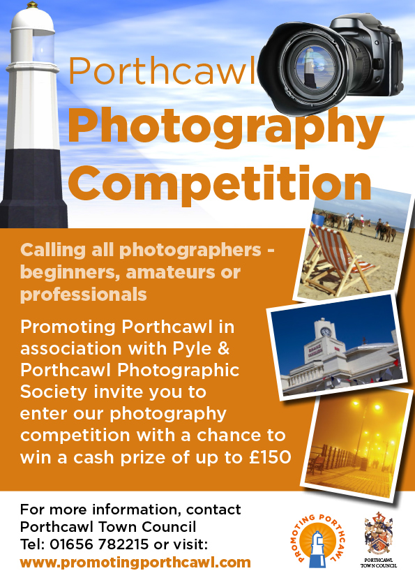 Porthcawl Photography Competition Poster