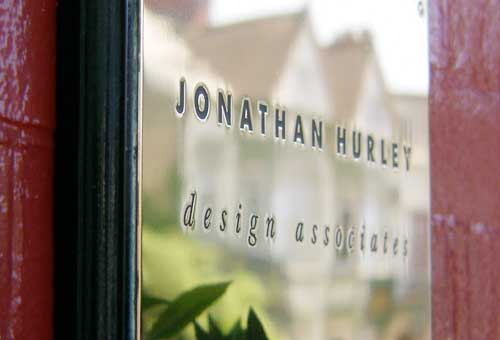 Sign for Jonathan Hurley Graphic Design Bridgend