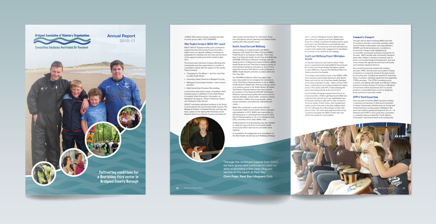 Bridgend Association of Voluntary Organisations Annual Report