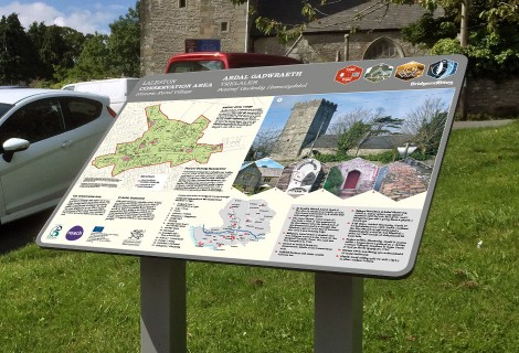 Bridgend Conservation Area Panels