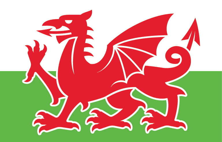 a simple welsh dragon vector available as a free download